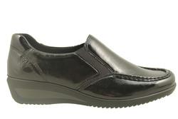 chaussure pour semelle orthopedique femme detente AP40621 - Chaussure Orthopédique DETENTE, MOCASSIN & BALLERI - PODOLINE - Voir en grand