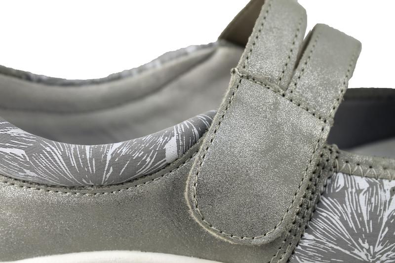 Chaussure pour semelle orthopédique femme ballerine AQR3510-2 - Voir en grand