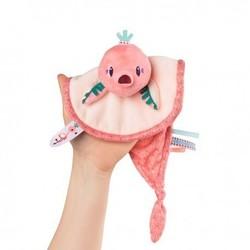 Doudou marionnette flamant rose Anaïs Lilliputiens