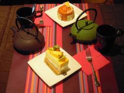 Servi au salon de thé - Voir en grand