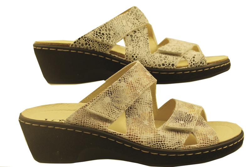 chaussure pour semelle orthopédique femme mule