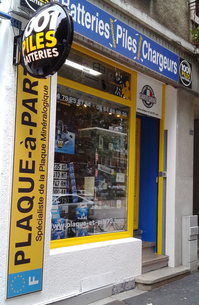 LE MAGASIN 1001 PILES BATTERIES CHARGEURS CHAMBERY 73 - MAGASIN 1001 PILES  BATTERIES - 1001 PILES 58b87e8743d8