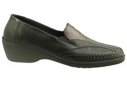 chaussure pour semelle orthopedique femme moc AP1013087-