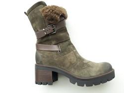 Bottine 10142M MANAS - Chaussures MANAS - MANDARINE - Voir en grand