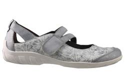 chaussure semelle orthopédique fem ballerine AQR3427- - Voir en grand