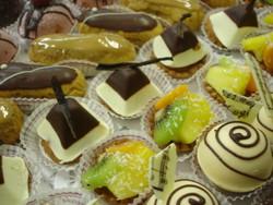 tartelettes fruits exotiques - Voir en grand
