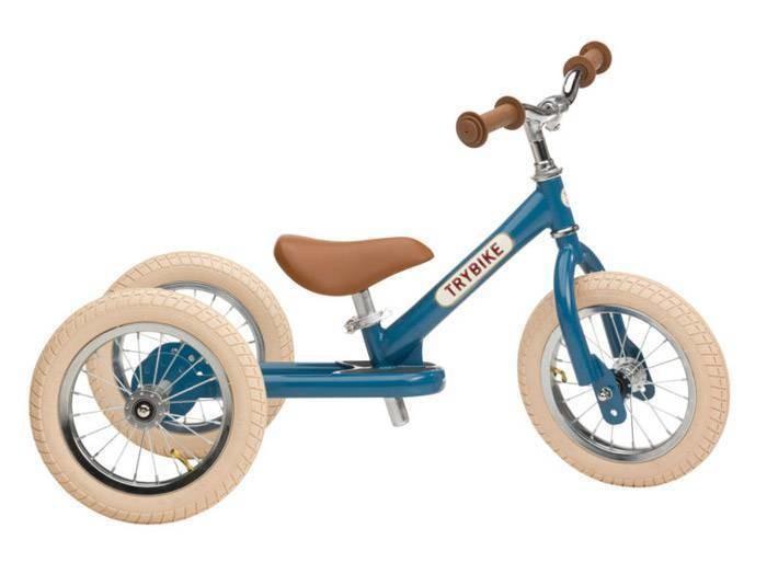 Tricycle transformable en draisienne Trybike bleu - Voir en grand