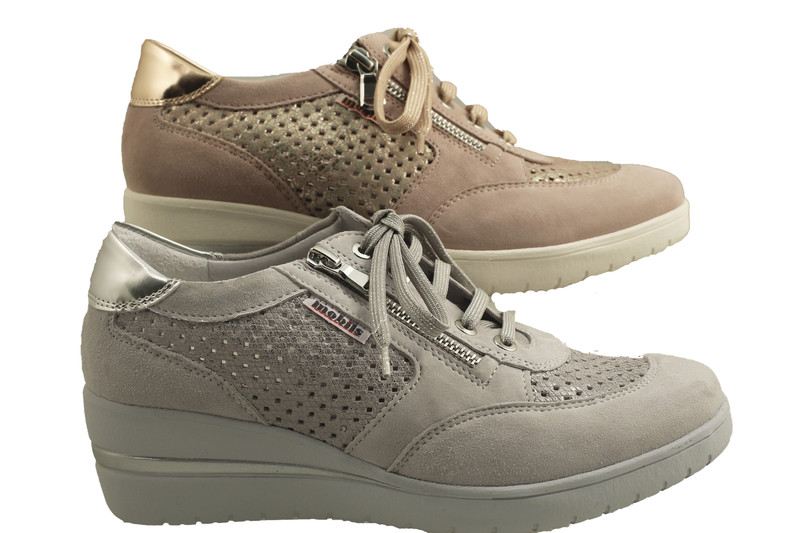 Chaussure pour semelle orthopédique femme lacet AQPRECILIA- - Voir en grand