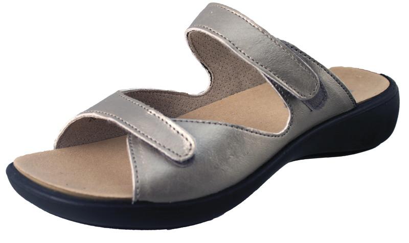 chaussure pour semelle orthopédique femme mule AQIBIZA107-2 - Voir en grand