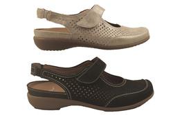 chaussure pour semelle orthopédique femme sandale AM32725 - Voir en grand