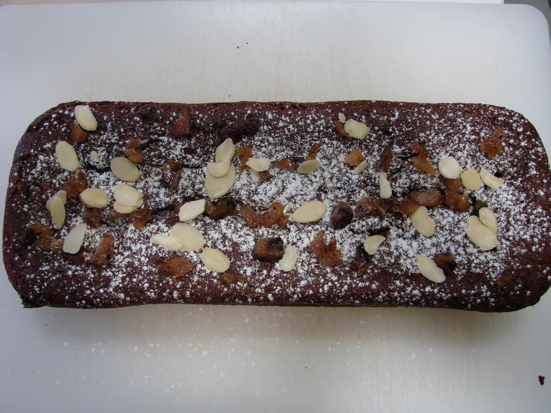 Moelleux chocolat et noix - Voir en grand
