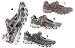 Chaussure pour semelle orthopédique femme sandale AMNIRO - Voir en grand