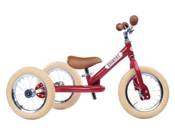 Tricycle transformable en draisienne Trybike rouge - Voir en grand