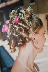 modern'salon coiffure de mariage