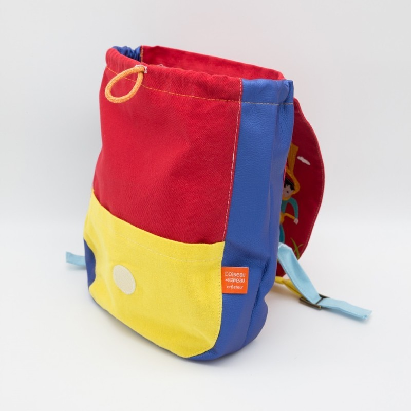 sac à dos enfant side car L'Oiseau Bateau - Voir en grand
