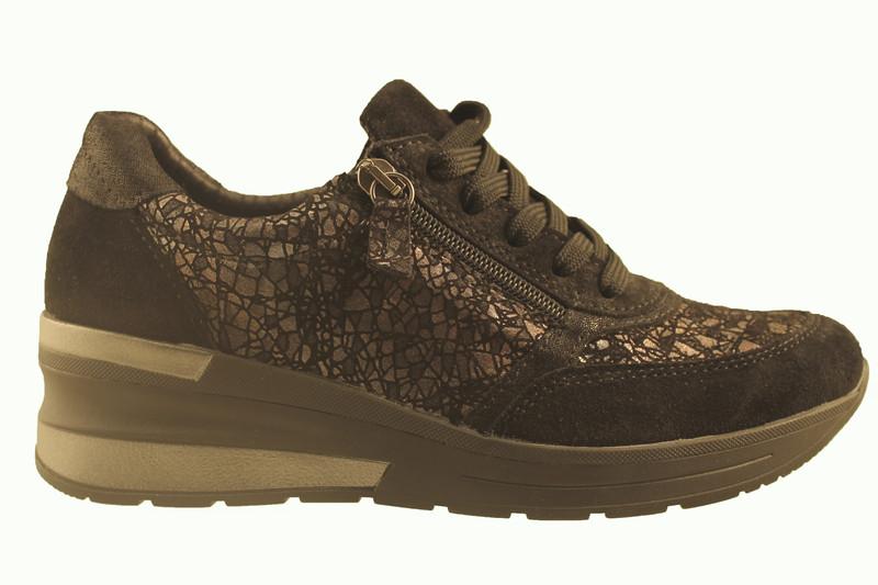 chaussure pour semelle orthopedique femme lacet AR1060502 - Chaussure Orthopédique VELCRO & LACET - PODOMODE - Voir en grand