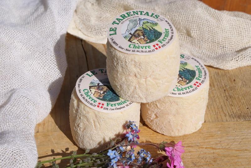 FROMAGE DE SAVOIE: Le Tarentais - Fromages de SAVOIE au Lait de CHÈVRE - La Fromagerie Duc Goninaz - Voir en grand