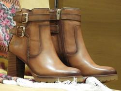 Chaussures à talon cuir marron PIKOLINOS