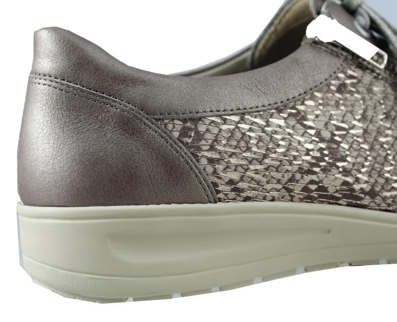 chaussure pour semelle orthopedique femme lacet AQ29001-2 - Voir en grand