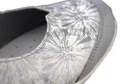 chaussure semelle orthopédique fem ballerine AQR3427-5 - Voir en grand