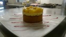 sablé breton ananas caramélisé.JPG - Voir en grand