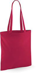 Tote bag personnalisable framboise
