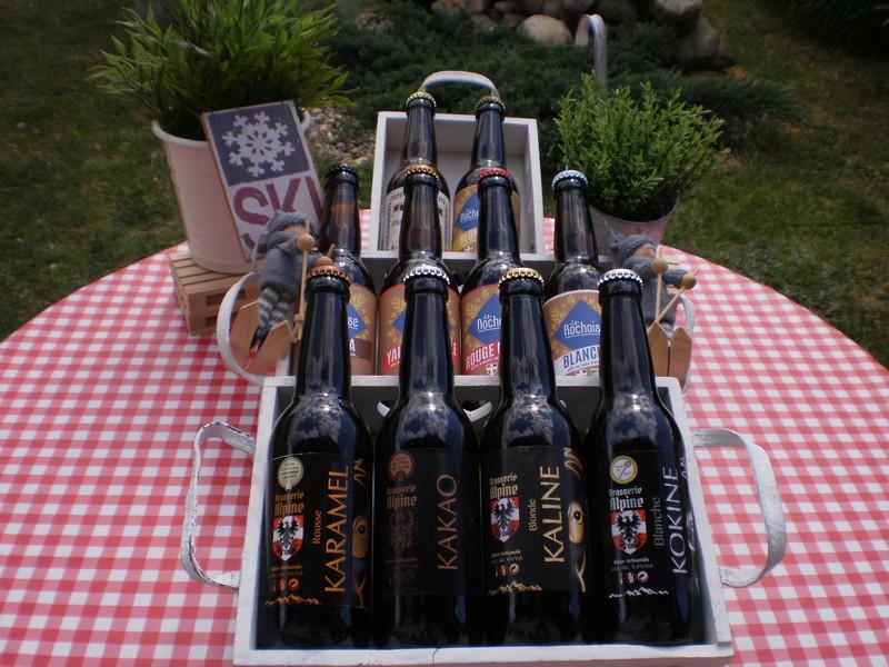 Bières Savoie Brasserie Rochaoise-Brasserie Alpine-Brasserie Chanaz - Voir en grand