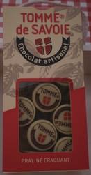 """CHOCOLAT DE SAVOIE """"PETITE TOMMES"""" 200 GR"""