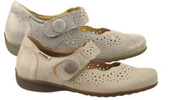 chaussure pour semelle orthopédique fem ballerine AOFABIENNE- - Voir en grand