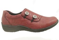 chaussure et semelle orthopédique femme détente APR7620 - Chaussure Orthopédique DETENTE, MOCASSIN & BALLERI - PODOLINE - Voir en grand