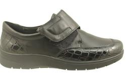 chaussure pour semelle orthopédique femme velvro  AR41070 - Chaussure Orthopédique VELCRO & LACET - PODOMODE