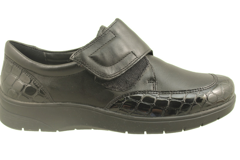 chaussure pour semelle orthopédique femme velvro  AR41070 - Chaussure Orthopédique VELCRO & LACET - PODOMODE - Voir en grand