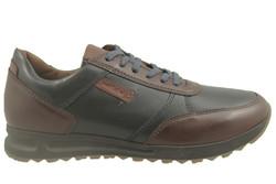 chaussure pour semelle orthopedique homme lacet AP41407 - Chaussure Orthopédique VELCRO & LACET - PODOLINE - Voir en grand