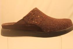 Chaussure pour semelle orthopédique homme sabot ANGOMERAH01 - Chaussure Orthopédique CHAUSSON & TOILE - PODOLINE - Voir en grand