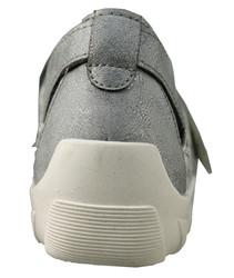chaussure semelle orthopédique fem ballerine AQR3427-1 - Voir en grand