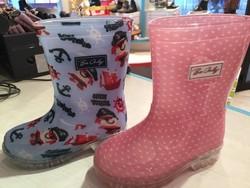 Botte pluie clignotante - chaussure chambéry Kat Pat Story - Voir en grand
