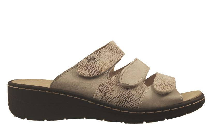 chaussure pour semelle orthopédique femme mule AQ1019998 - Chaussure Orthopédique SABOTS & MULES - PODOLINE - Voir en grand
