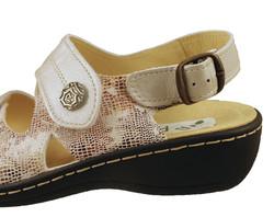 chaussure pour semelle orthopédique femme nu-pied AQ1019588-6 - Voir en grand