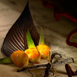 Ganache aux Fruits de la passion - Voir en grand
