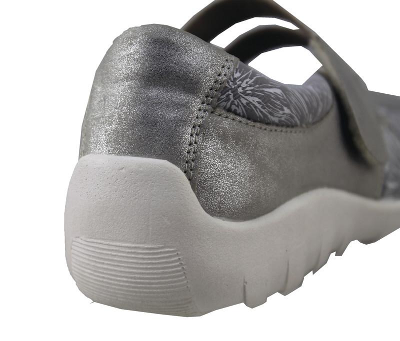 Chaussure pour semelle orthopédique femme ballerine AQR3510-7 - Voir en grand
