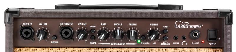 Ampli acoustiques Laney LA30D-2 - Voir en grand
