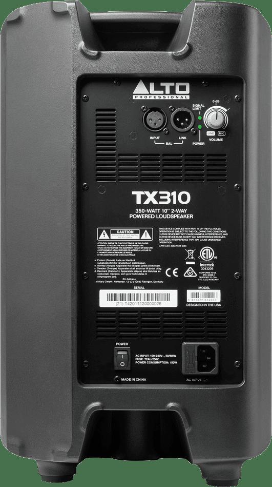 Enceinte Alto Pro TX310 - Voir en grand