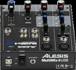 Tables de mixage Alesis MM4USB-3 - Voir en grand