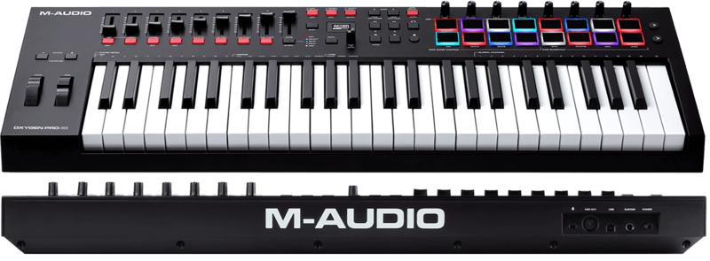 Clavier maître M-AUDIO OXYGENPRO49-2. - Voir en grand