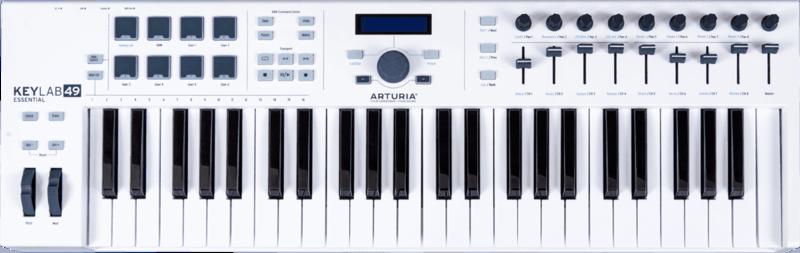 Clavier maître Arturia ESSENTIAL-49 - Voir en grand