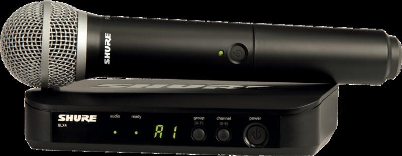 SYSTEME HF Shure BLX24E-PG58-M17 - Voir en grand