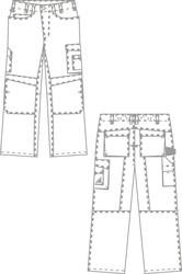 Tenue professionnelle - pantalon de travail