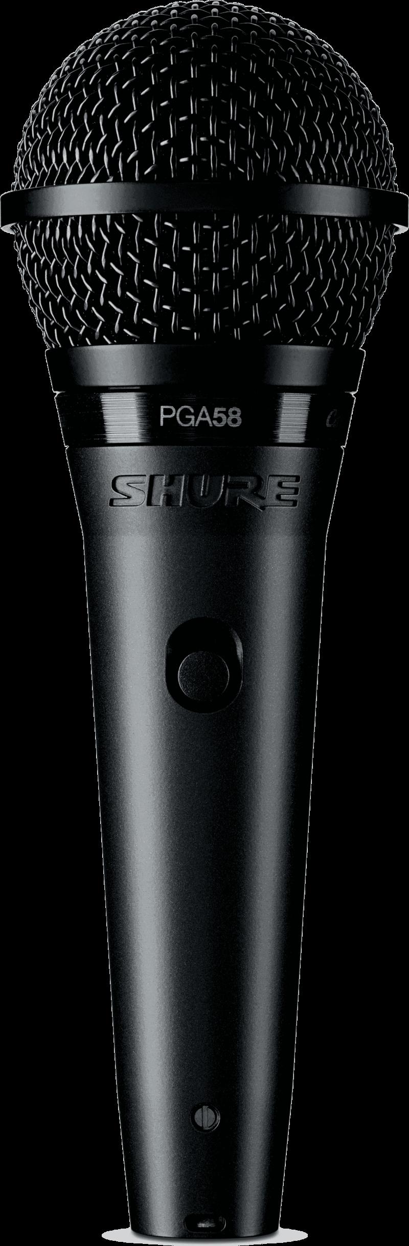 Micro Shure filaire PGA58-QTR - Voir en grand