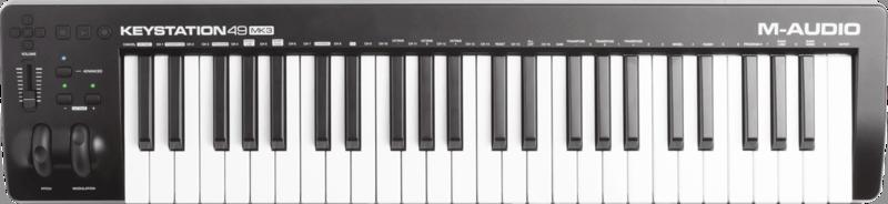 Clavier maître M-AUDIO KEYSTATION49MK3 - Voir en grand