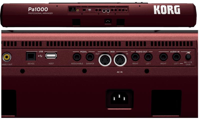 Arrangeur Korg PA1000-3. - Voir en grand